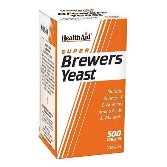 Health Aid Brewers Yeast- 500 ταμπλέτες
